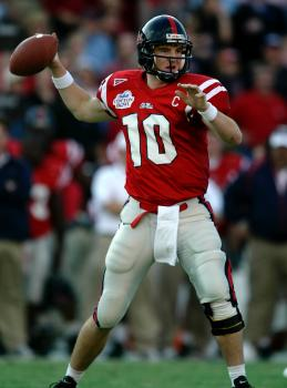 Set New Ole Miss Career Records For Completions 829 And Passing Attempts 1363 Both Marks Ranked Fourth On The SEC Lists