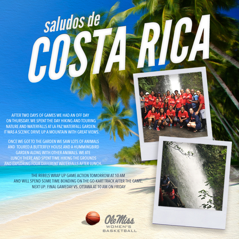Keep Up with Women's Basketball in Costa Rica - Ole Miss