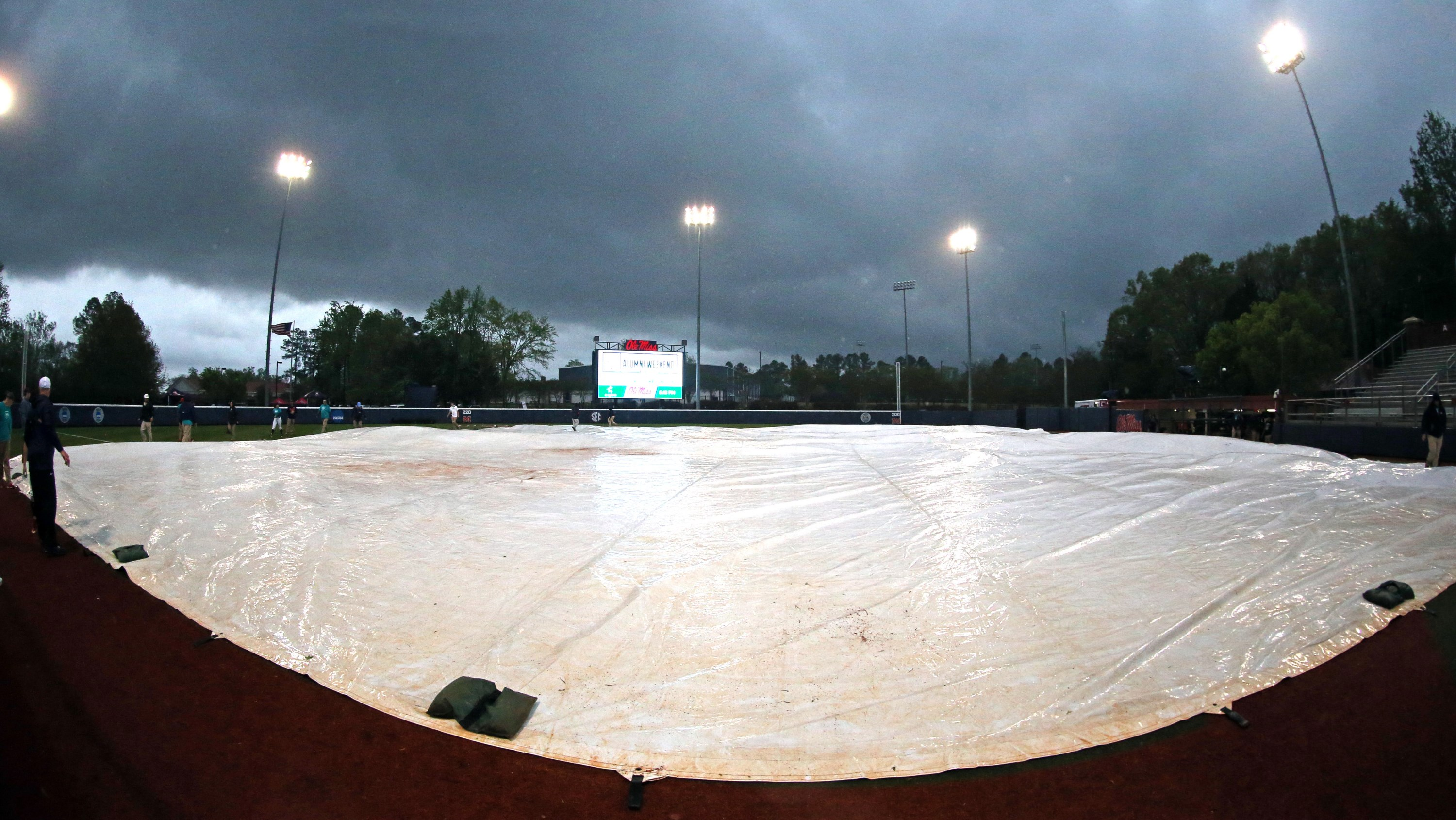 Final Game of Ole Miss Classic Cancelled Due to Weather