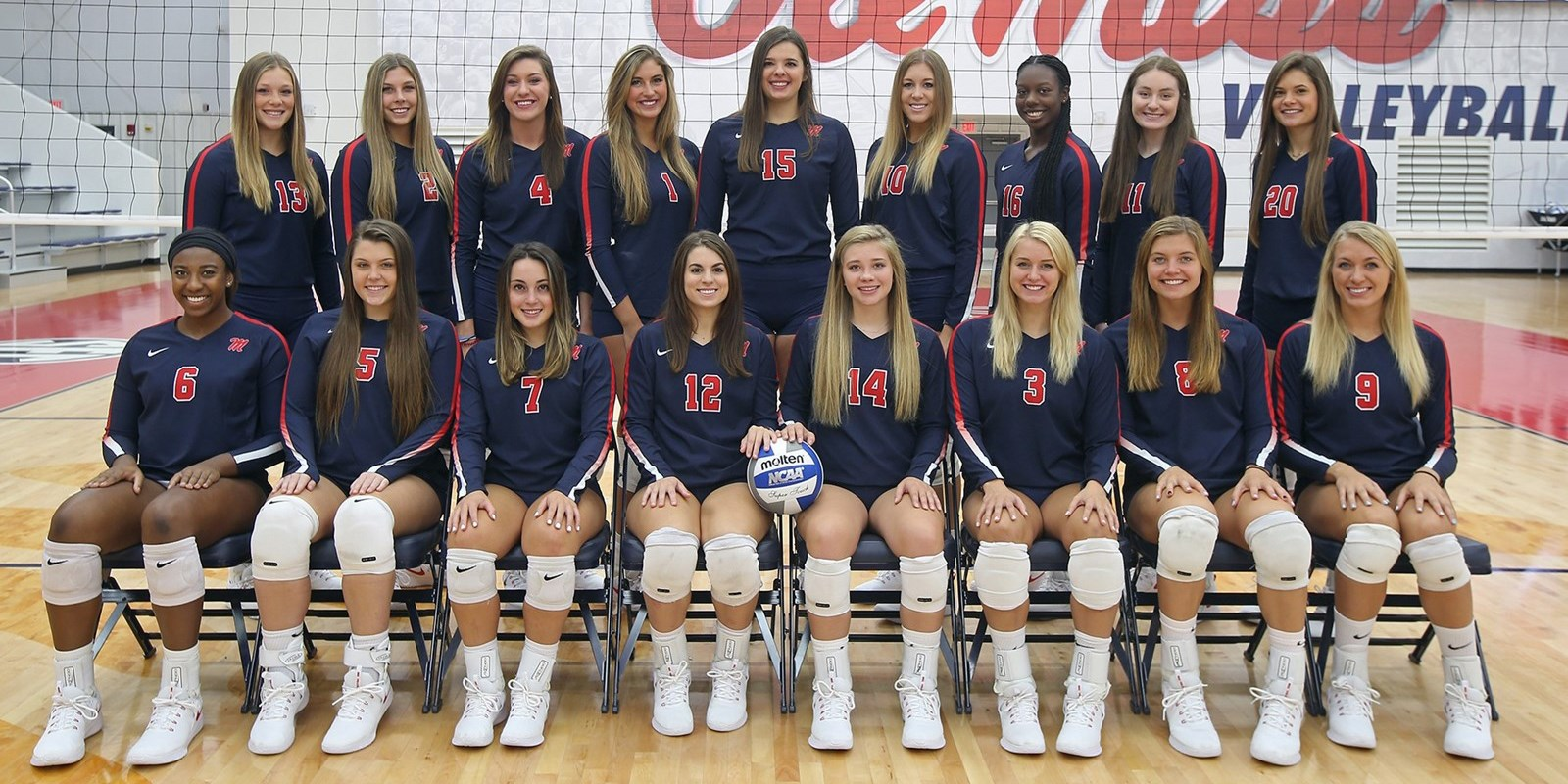 2018 Volleyball Roster Ole Miss Athletics