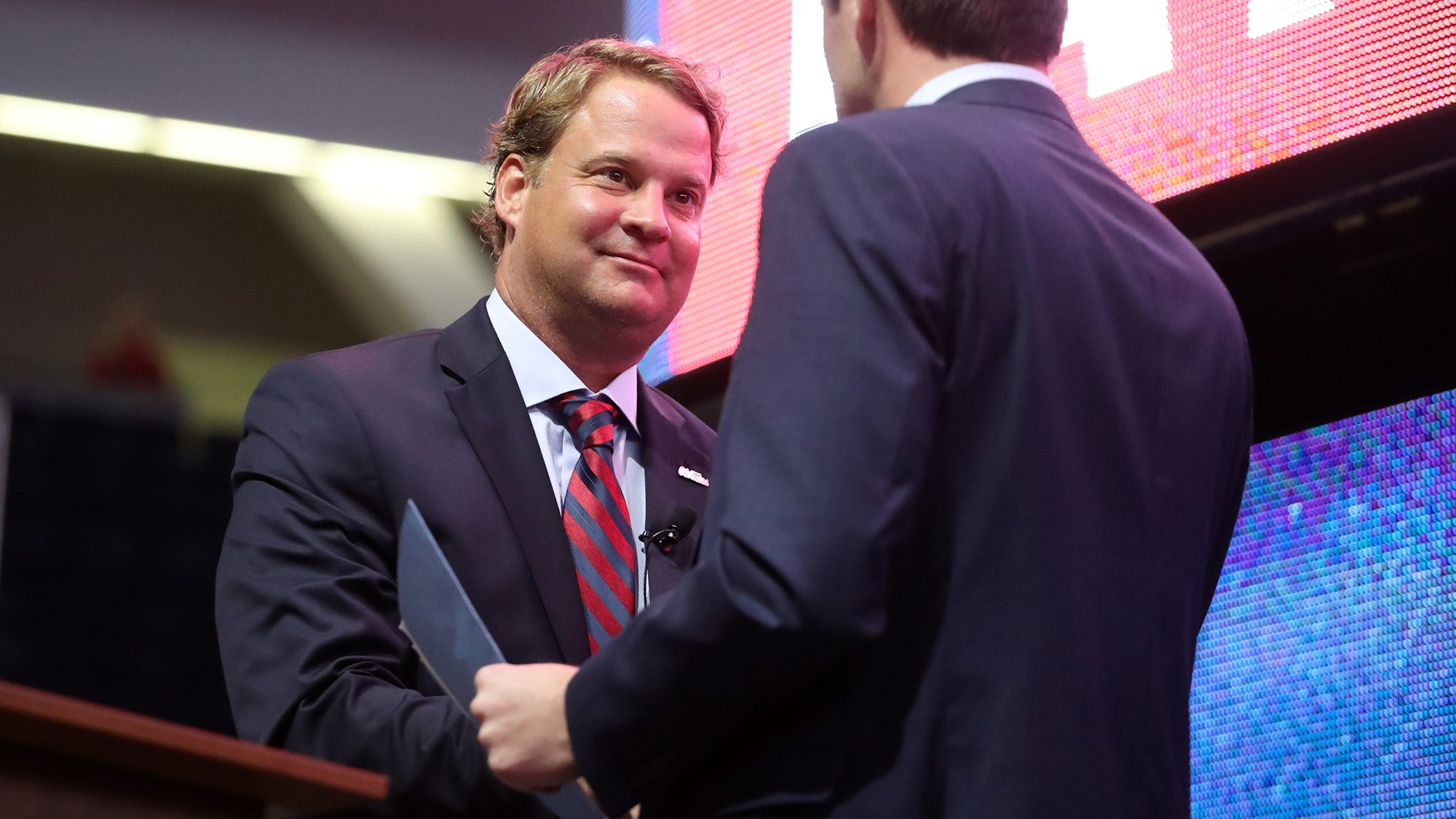 Lane Kiffin Introductory Press Conference Ole Miss Athletics