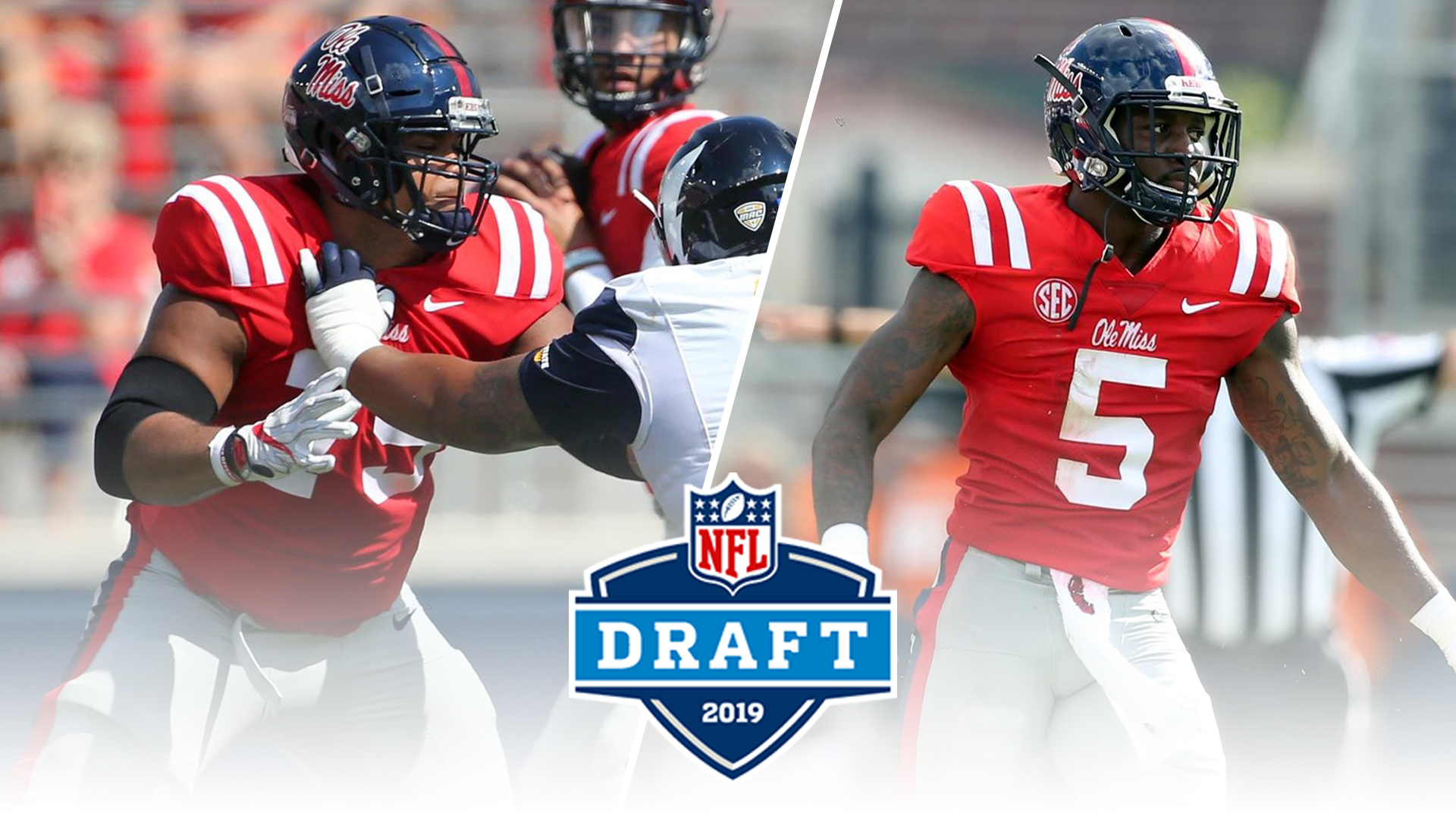 hot sale online c7162 29b7d Two Rebels Taken in Seventh Round of NFL Draft - Ole Miss ...