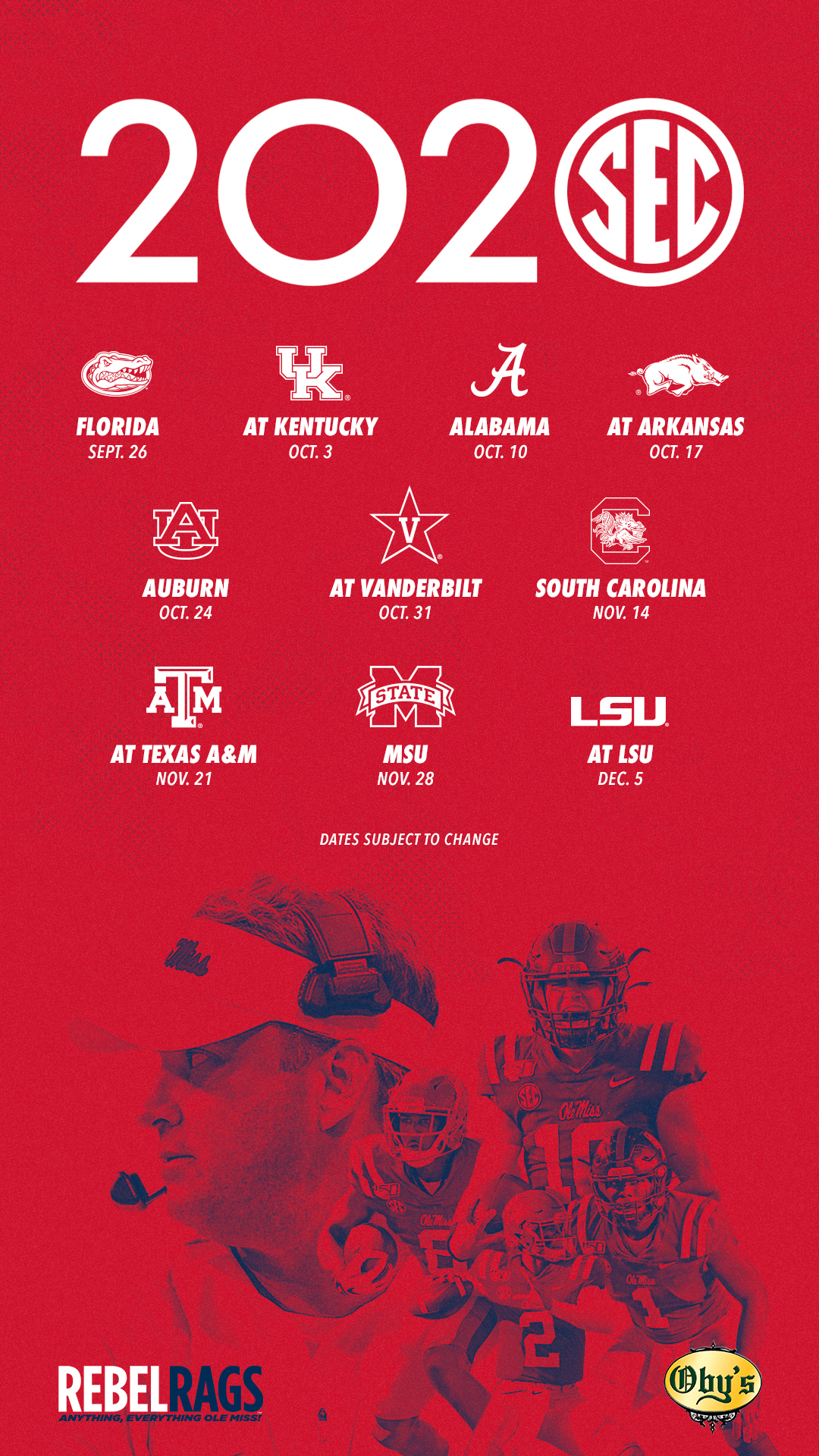 Football Digital Downloads Schedules Ole Miss Athletics Soy una comunicóloga con un máster en marketing digital. ole miss athletics