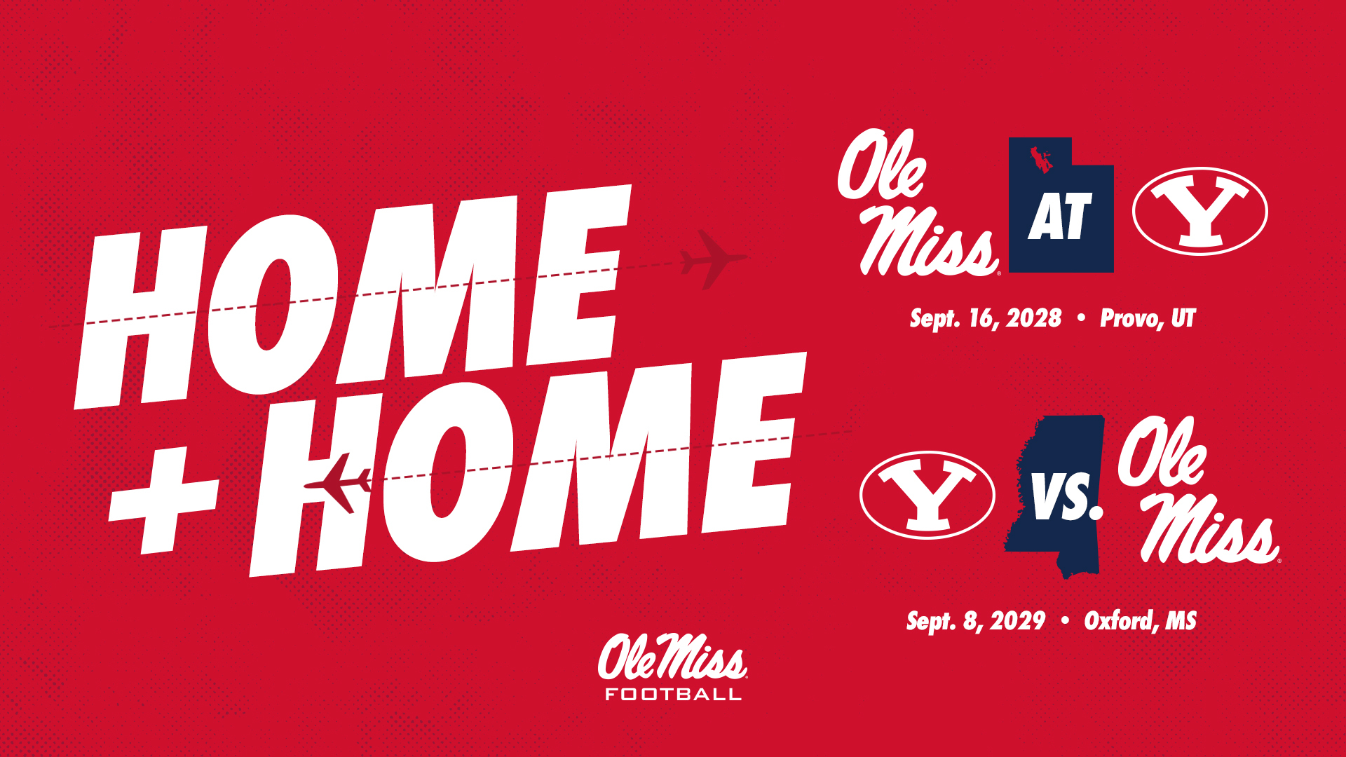 Byu Calendar 2022.Football Schedules Home And Home Series With Byu Ole Miss Athletics